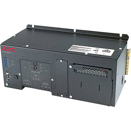 APC by Schneider Electric DIN Rail - Panel Mount UPS with Standard Battery 500VA 230V - 2.50 Hour Recharge - 8 Minute Stand-by