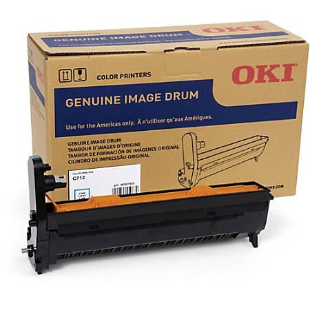 Oki 30K Cyan Image Drum for C712 - 30000 - 1 Each