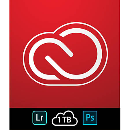 Adobe Creative Cloud Photography Plan w/ 1TB, 1-Year Subscription, Download Version