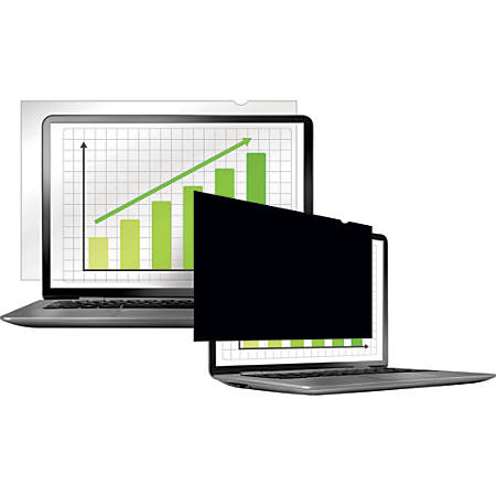 """Fellowes PrivaScreen Blackout Privacy Filter for Monitors, 23.6"""" (16:9), 4814401"""
