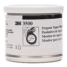 3M 3500 Organic Vapor Monitors Orange