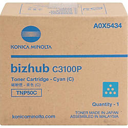 Konica Minolta TNP50C Original Toner Cartridge