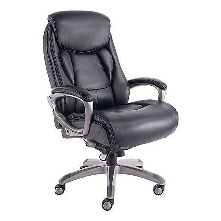 Serta Works Meshbonded Leather High Back Office Chair With