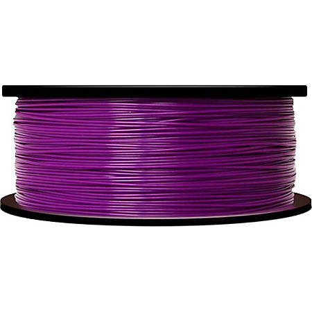 MakerBot 3D Printer ABS Filament, True Purple, 0.07""