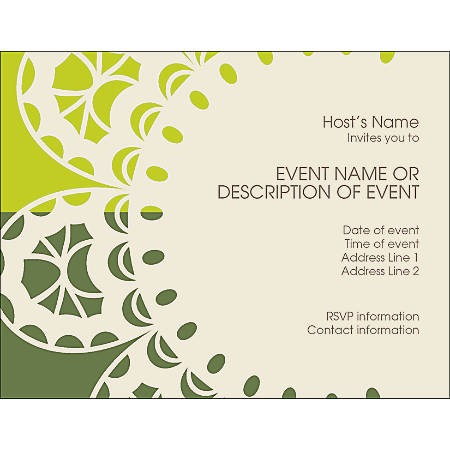 """Custom Moving Announcements, 5 1/2"""" x 4 1/4"""", Bright White, Pack Of 10"""
