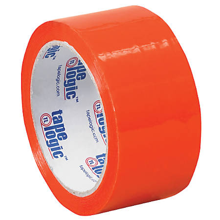 "Tape Logic® Carton Sealing Tape, 2"" x 55 Yd., Orange, Case Of 36"