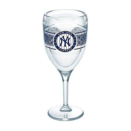 Tervis MLB Select Wine Glass, 9 Oz, New York Yankees