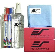 Elite Screens WhiteBoardScreen Cleaning Kit For
