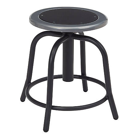 Fine National Public Seating 6800 Steel Designer Swivel Stools Black Set Of 2 Stools Item 9765875 Inzonedesignstudio Interior Chair Design Inzonedesignstudiocom