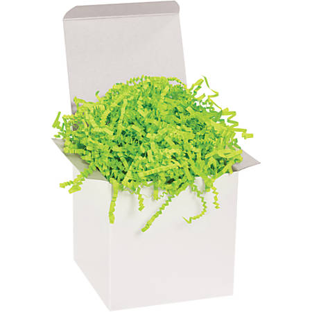 Office Depot® Brand Crinkle Paper, Lime, 40-Lb Case