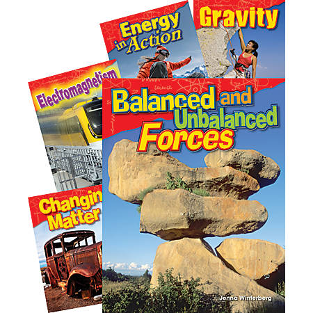 Teacher Created Materials Physical Science 5-Book Set, Grade 3
