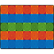 Flagship Carpets Bulls Eye Block Rectangle