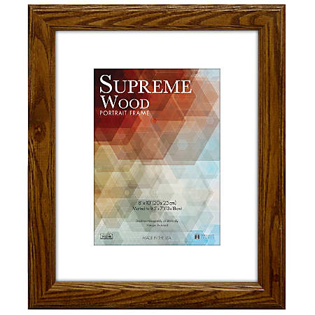 "Timeless Frames® Supreme Picture Frame, 8"" x 10"", Honey"