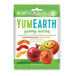 Yummy Earth Gummy Worms 25 Oz