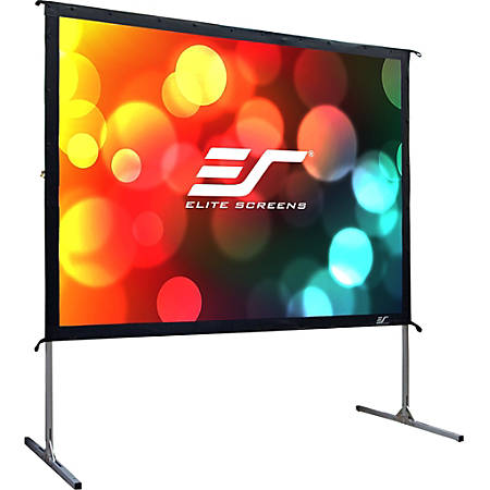 """Elite Screens Yard Master 2 - 100-INCH 16:9, 4K / 8K Ultra HD, Active 3D, HDR Ready Portable Foldaway Movie Home Theater Projector Screen, FRONT Projection - OMS100H2"""""""