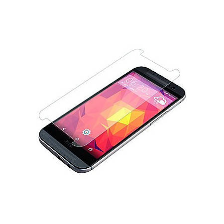 invisibleSHIELD HTC One M8 Screen Protector - Smartphone - Abrasion Resistant, Scratch Resistant, Smears Protection, Smudge Resistant - Tempered Glass