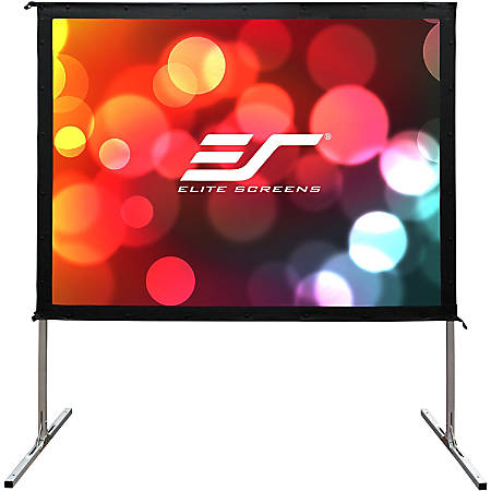 Elite Screens Yard Master 2 - 135-INCH 16:9, 4K / 8K Ultra HD, Active 3D, HDR Ready Portable Foldaway Movie Home Theater Projector Screen, FRONT Projection - OMS135H2""