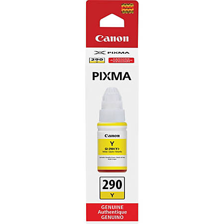 Canon PIXMA GI-290 Ink Bottle - Inkjet - Yellow - 7000 Pages - 2.37 fl oz - 1 Each