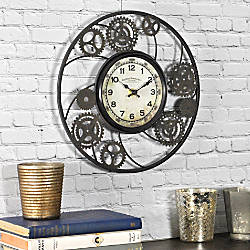 FirsTime Gears Round Wall Clock 11