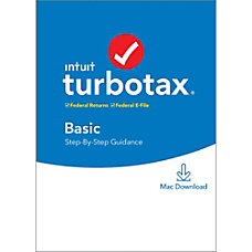 TurboTax 2019 Basic Federal EFile For