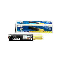 Epson S050187 Yellow Toner Cartridge