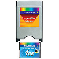 Transcend 1GB Flash Memory Card
