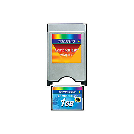 Transcend 1GB Flash Memory Card