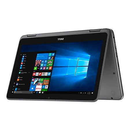 """Dell™ Inspiron 11 3185 2-in-1 Laptop, 11.6"""" Touch Screen, AMD A9, 4GB Memory, 500GB Hard Drive, Windows 10® Home"""