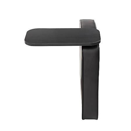 Boss Bomber Tablet Arm For Sectional Sofas, Left Arm, Black