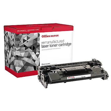 Office Depot® Brand OD87A (HP 87A / CF287A) Remanufactured Black Toner Cartridge