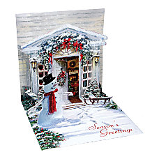 Up With Paper Christmas Pop Up