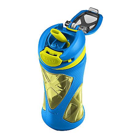 ZULU Torque Water Bottle, 16 Oz, Blue