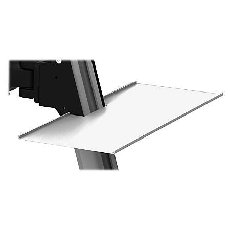 Lorell® Sit-To-Stand Flex Desk, Accessory Tray, Black