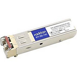 AddOn Juniper Networks SFP-GE80KCW1610-ET Compatible TAA Compliant 1000Base-CWDM SFP Transceiver (SMF, 1610nm, 80km, LC, DOM) - 100% compatible and guaranteed to work