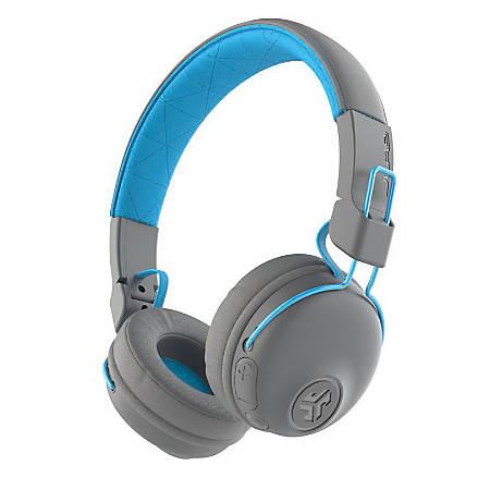 JLab Studio Wireless Headphones, Gray Blue, HBASTUDIORGRYBLU4