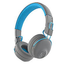 JLab Studio Wireless Headphones Gray Blue