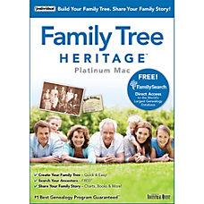Family Tree Heritage Platinum 9 Mac