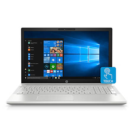 "HP Pavilion 15-cu0010nr Laptop, 15.6"" Touch Screen, 8th Gen Intel® Core™ i5, 8GB Memory, 1TB Hard Drive, Windows® 10 Home"