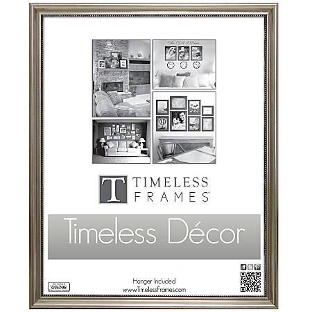 """Timeless Frames® Astor Frame, 11"""" x 14"""", Silver"""