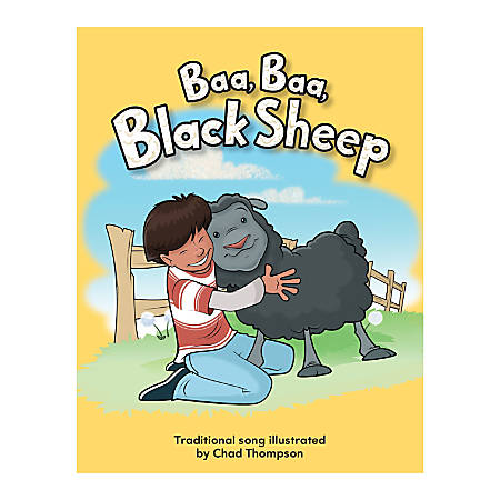Teacher Created Materials Big Book, Black Sheep, Pre-K - Grade 1
