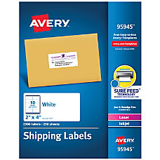Avery Bulk Shipping Labels 95945 2