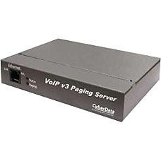 CyberData VoIP V3 Paging Server