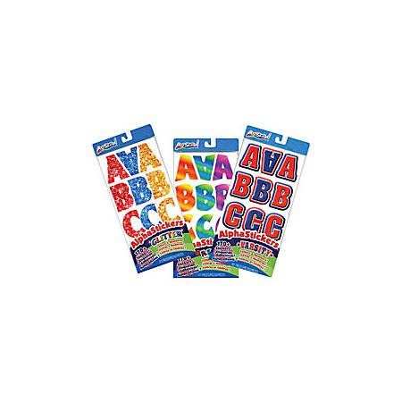 ArtSkills Letter Number Punctuation Stickers Retro