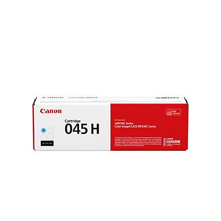 Canon 045H High-Yield Cyan Toner Cartridge