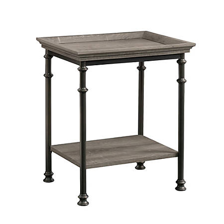 "Sauder® Canal Street Side Table, 24-1/2""H x 17-1/2""W x 21-1/2""D, Northern Oak"