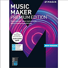 MAGIX Music Maker Premium Edition Download