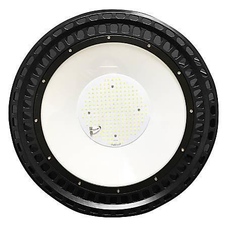 James LED UFO Round Highbay Fixture, 100 Watts, 5000K, 13500 Lumens, 120-277V