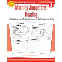 Scholastic Morning Jumpstarts Reading Grade 1
