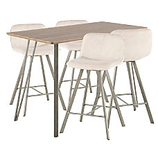 Lumisource Sedona Industrial Counter Table With
