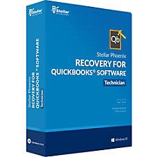 Stellar Phoenix Recovery for QuickBooks Software